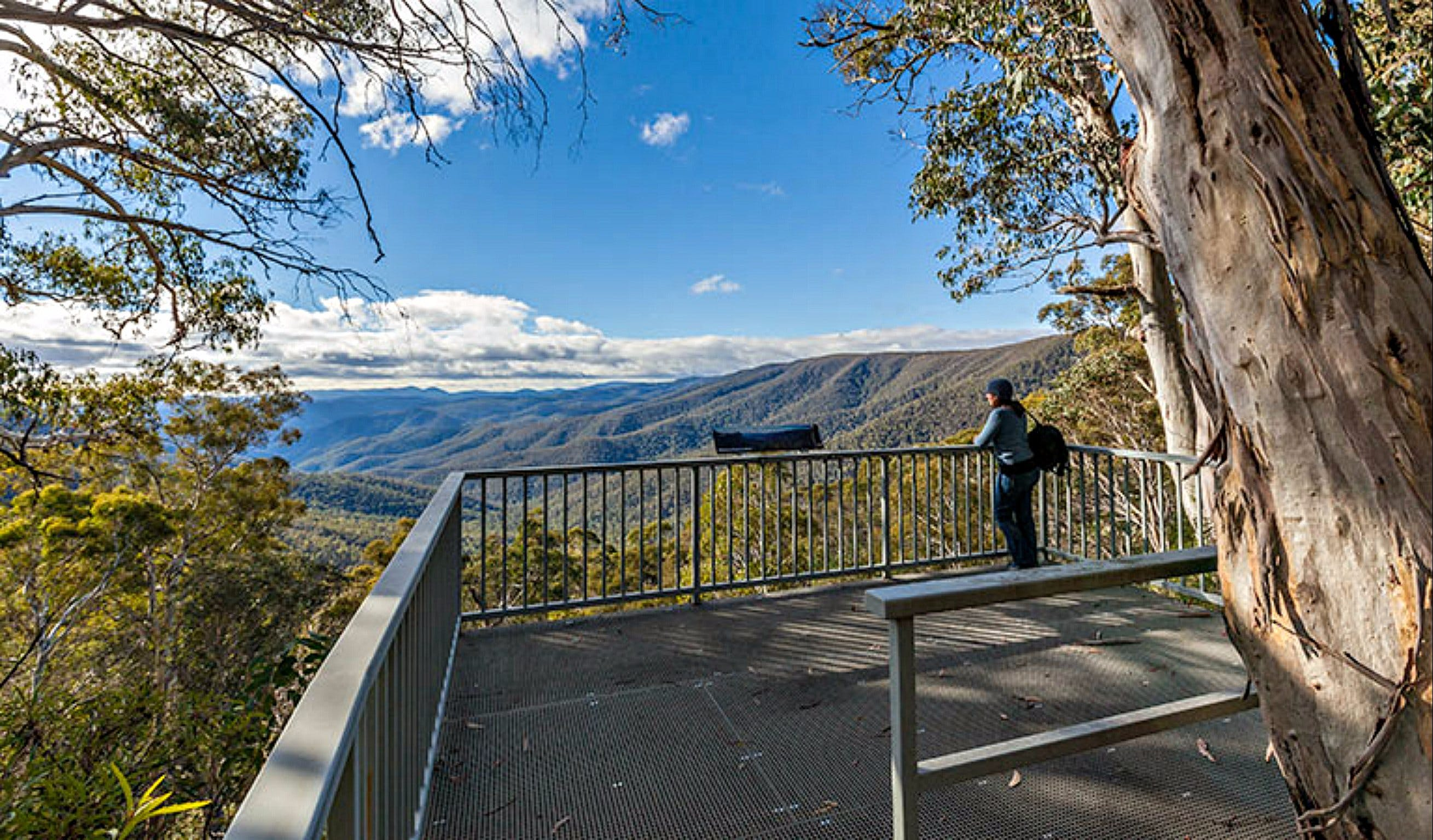 Wallace Creek Lookout - VIC Tourism