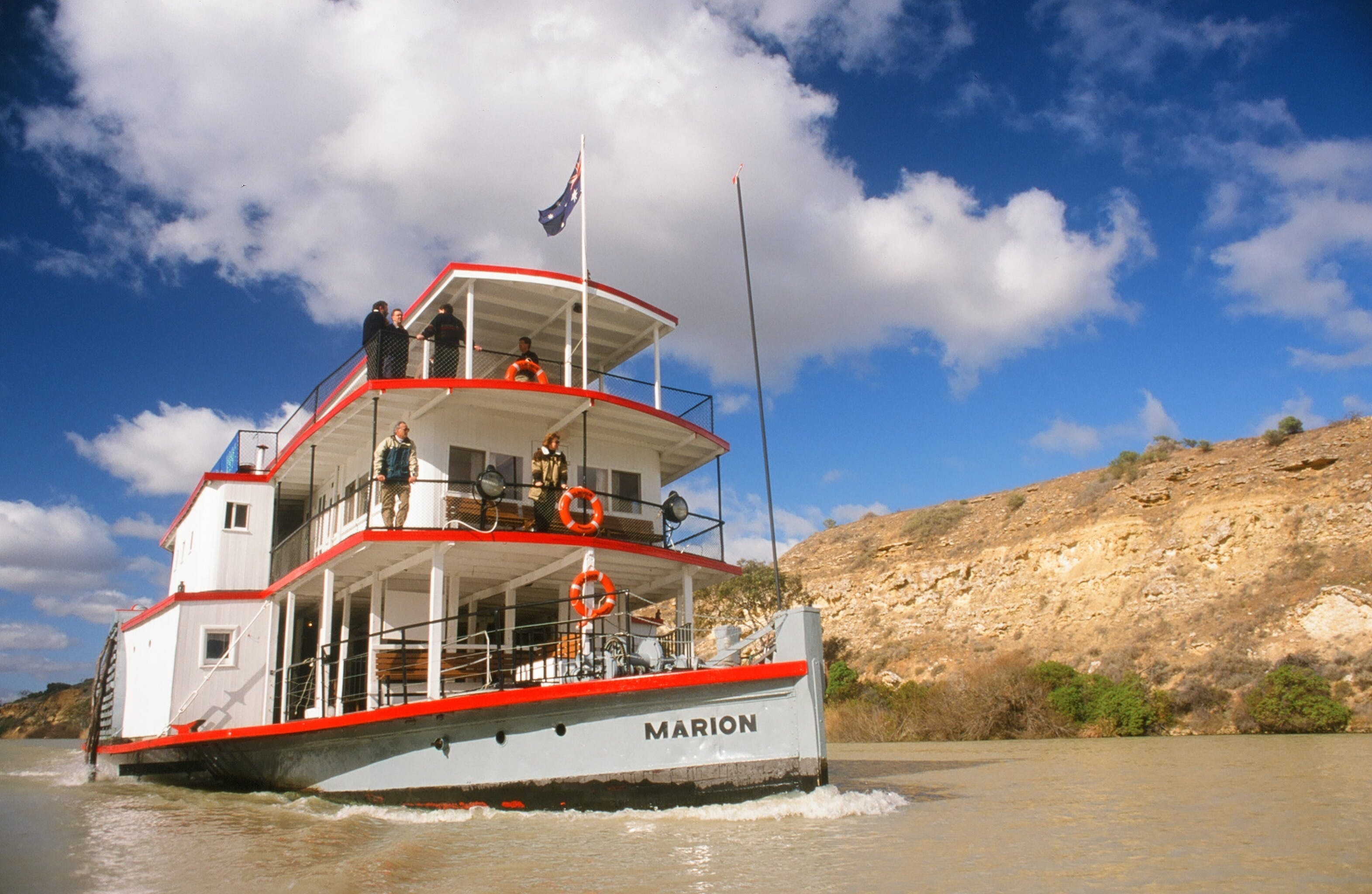 PS Marion Short Cruises - all cruises cancelled until further notice - VIC Tourism
