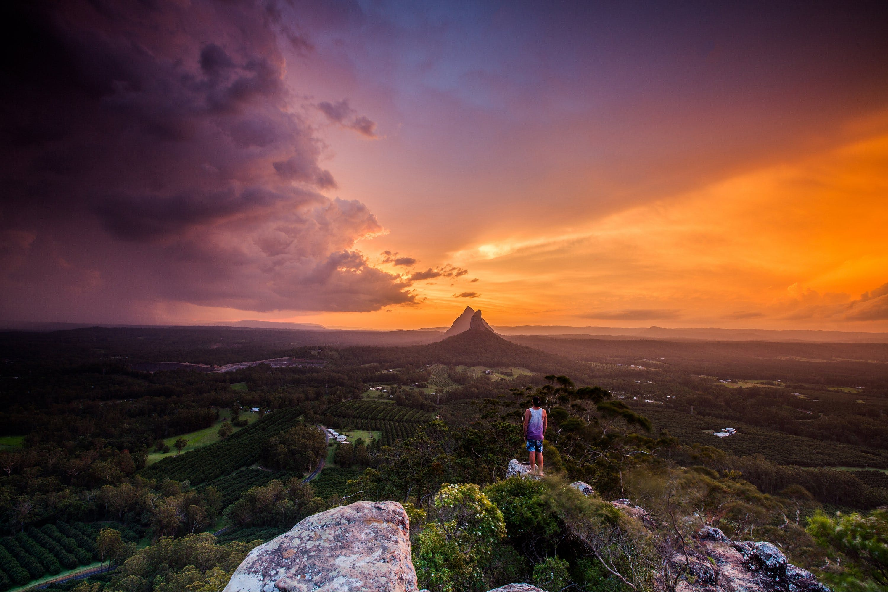 Glass House Mountains - VIC Tourism