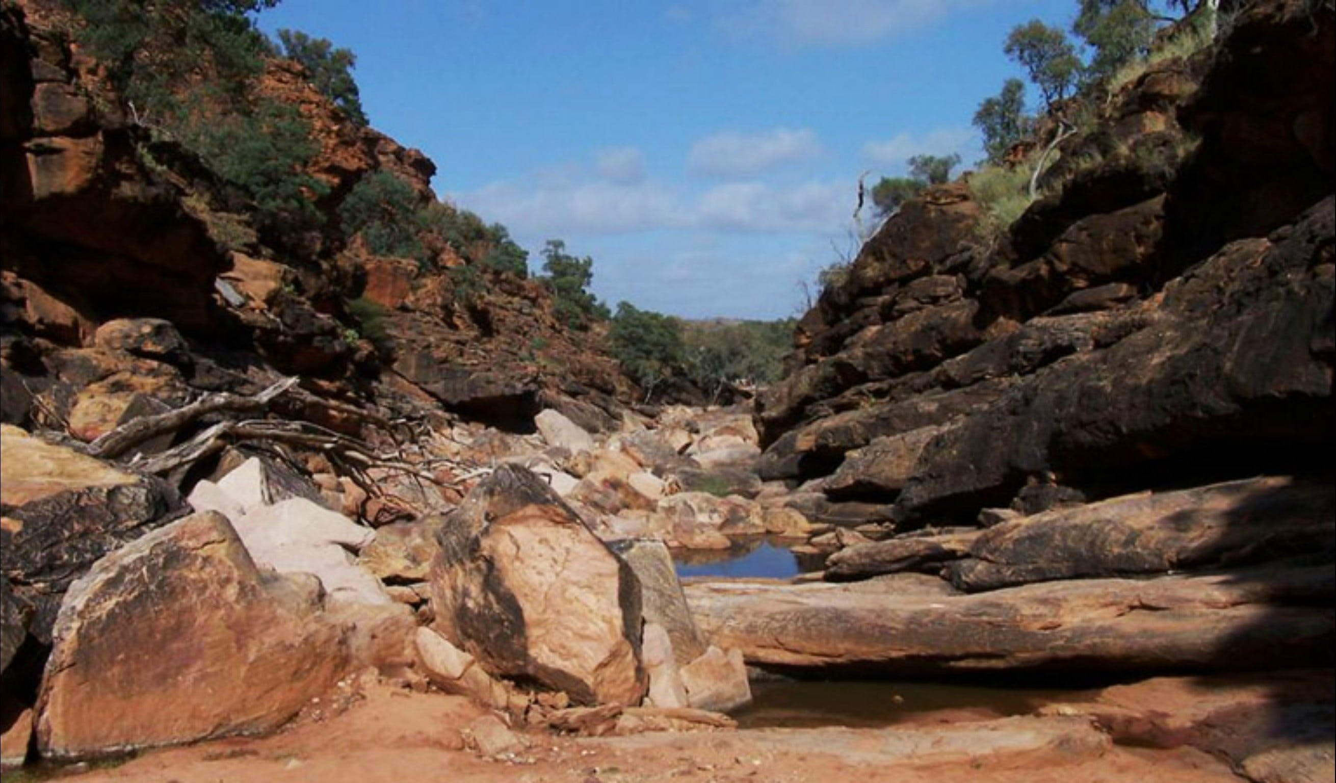 Homestead Gorge trail - VIC Tourism