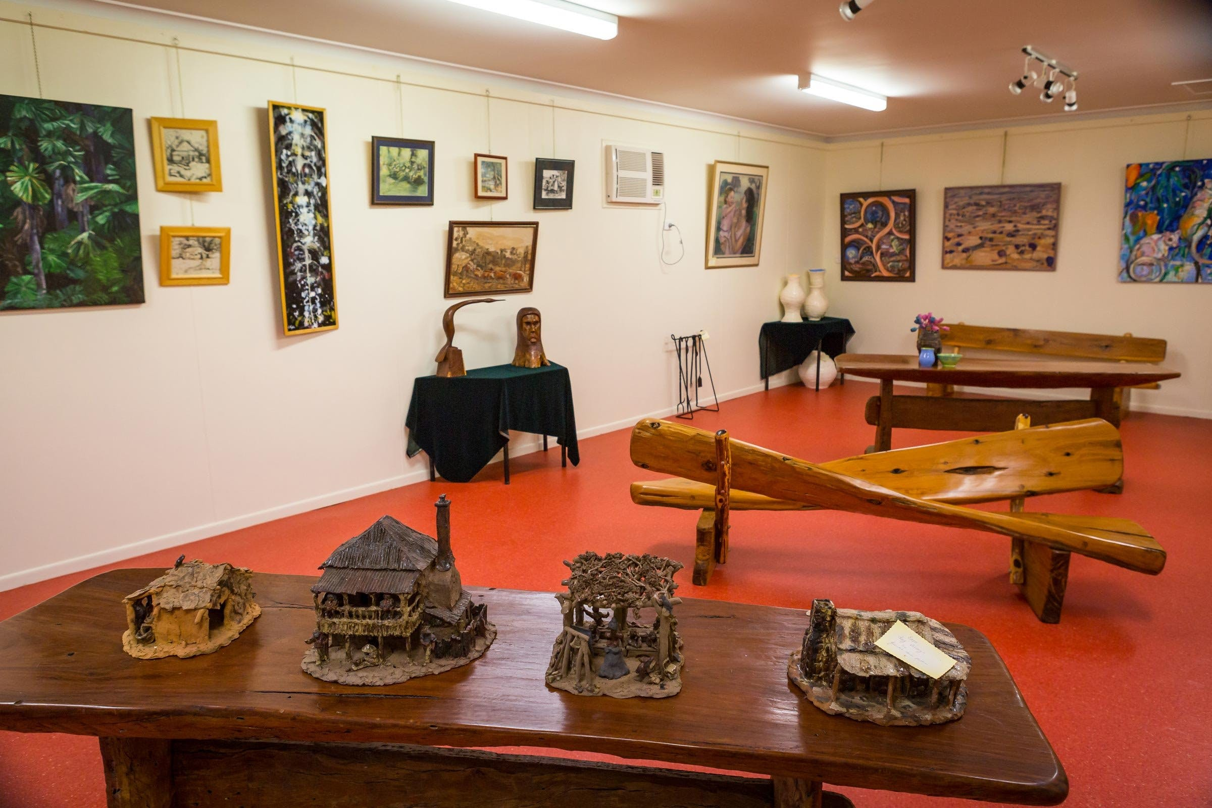 Jane Neville Rolfe Art Gallery - VIC Tourism