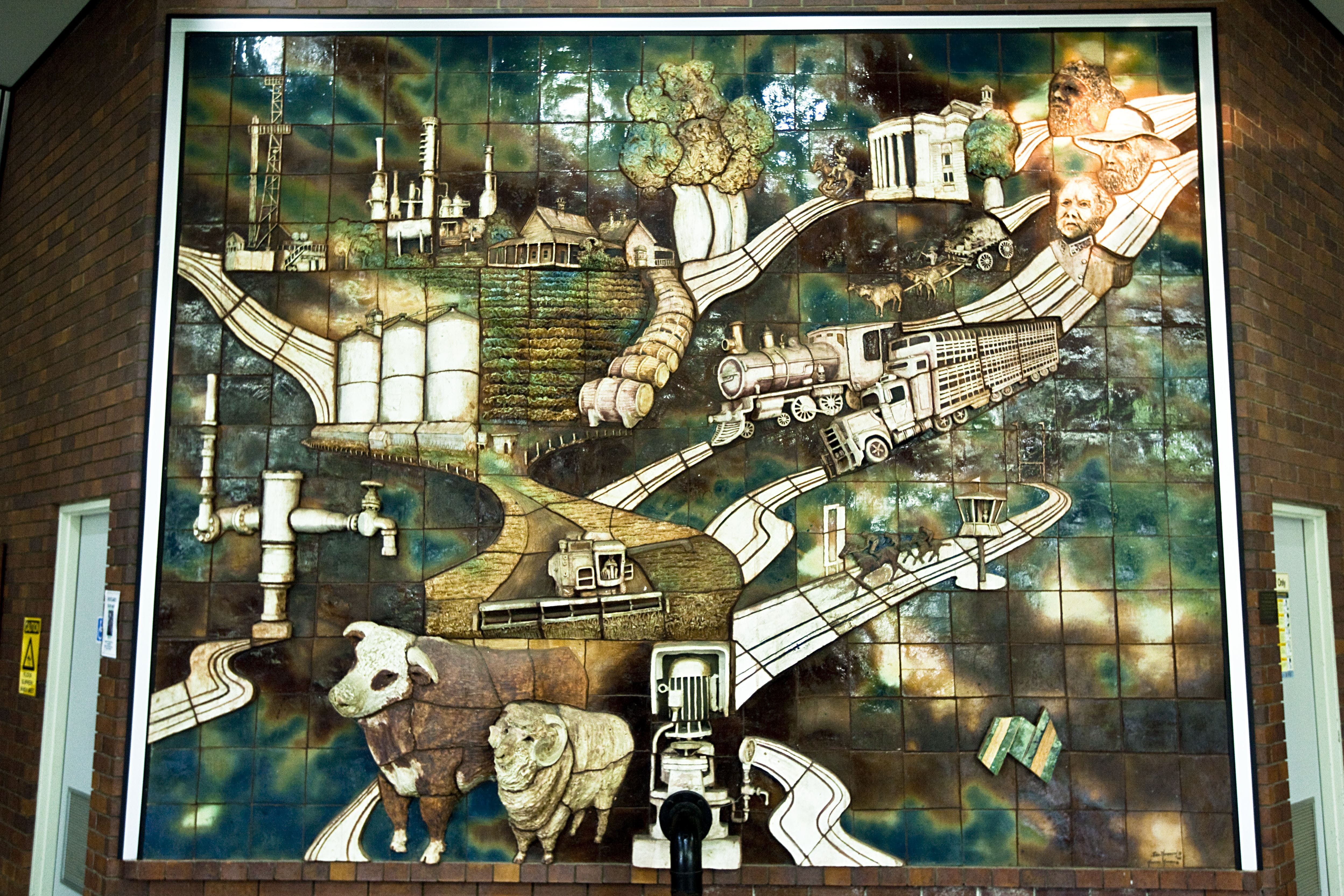 Three Dimensional Mural - VIC Tourism
