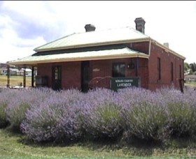 Lavender House in Railway Park - VIC Tourism