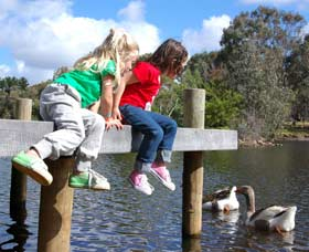 Vasse River and Rotary Park - VIC Tourism
