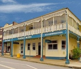 Federal Hotel Bellingen - VIC Tourism