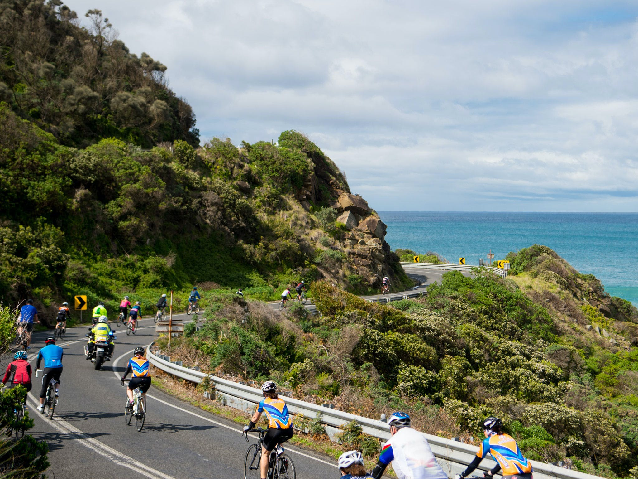 Amy's Great Ocean Road Gran Fondo - VIC Tourism