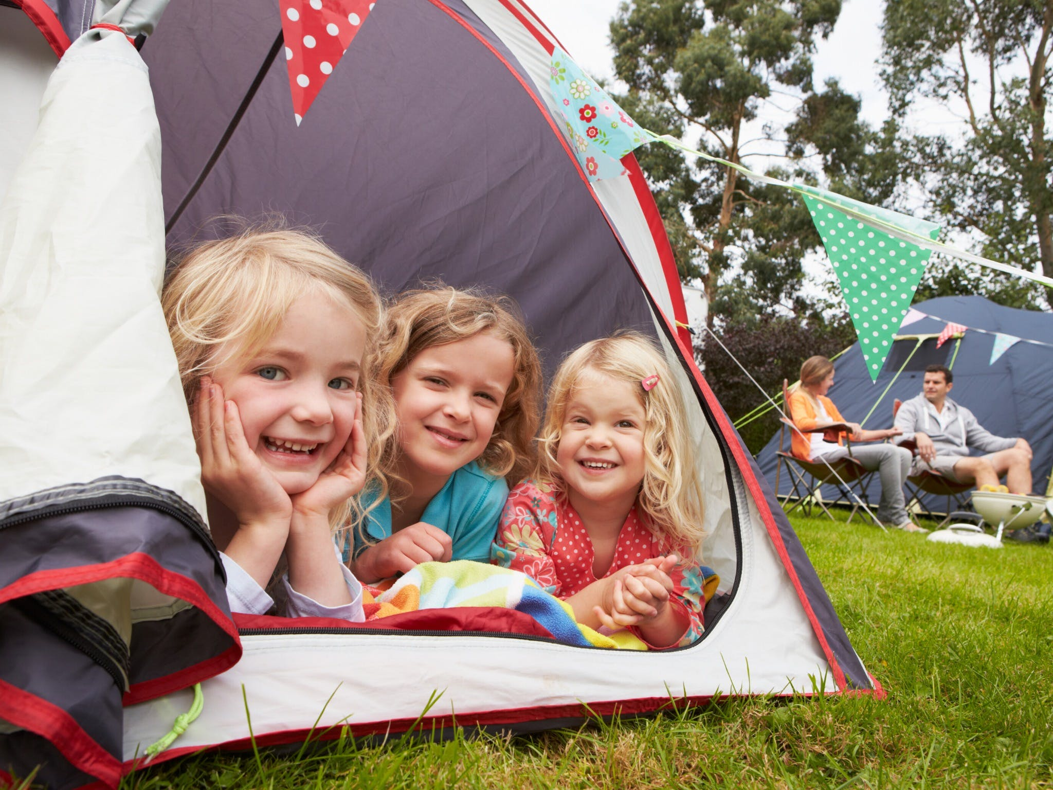 Camp Out In Town - VIC Tourism