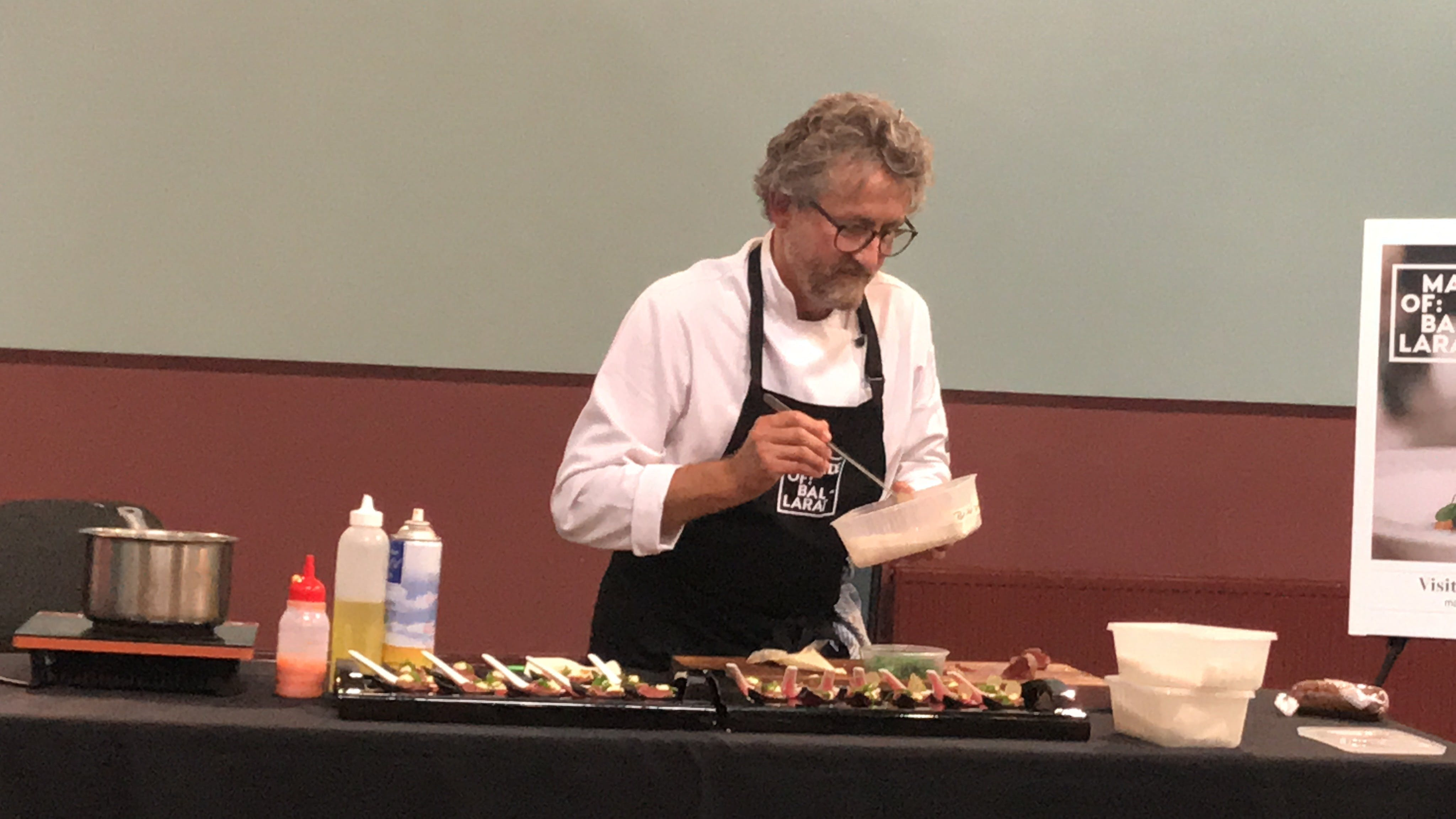 Masterclasses with Peter Ford Catering Inglenook Dairy - VIC Tourism