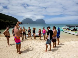 Ocean Swim Week with Trevor Hendy Pinetrees Lord Howe Island - VIC Tourism