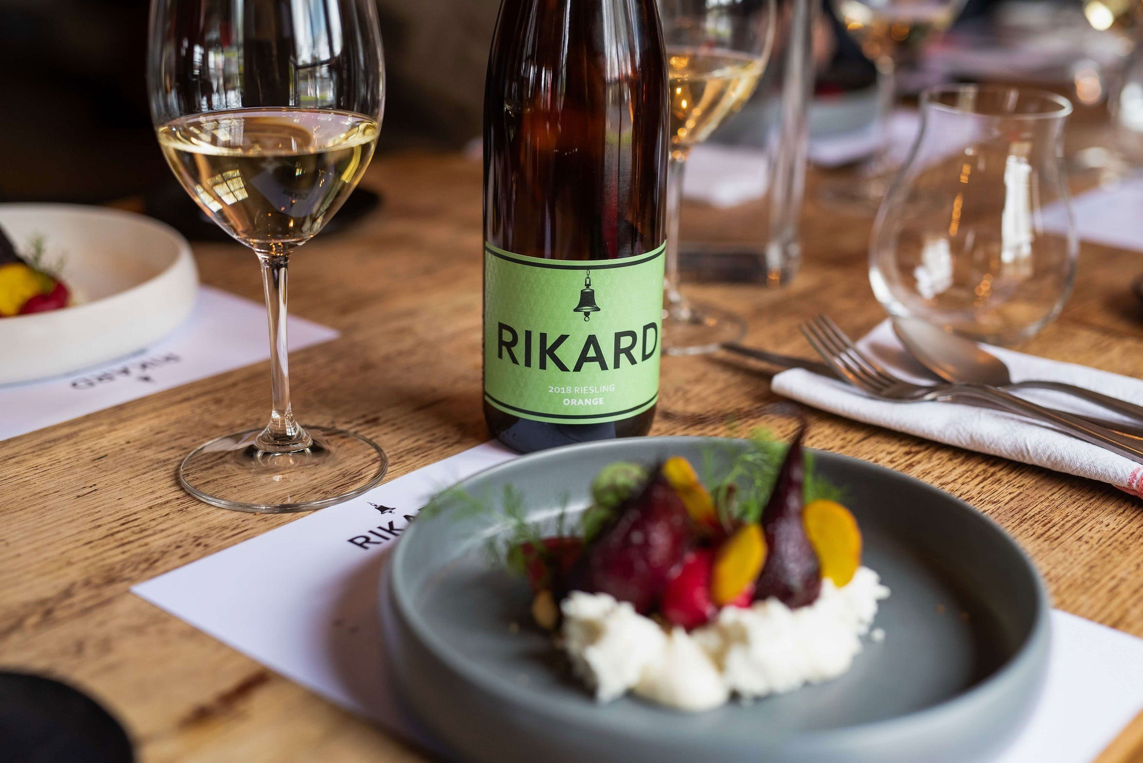 RIKARD Wines at Charred - VIC Tourism