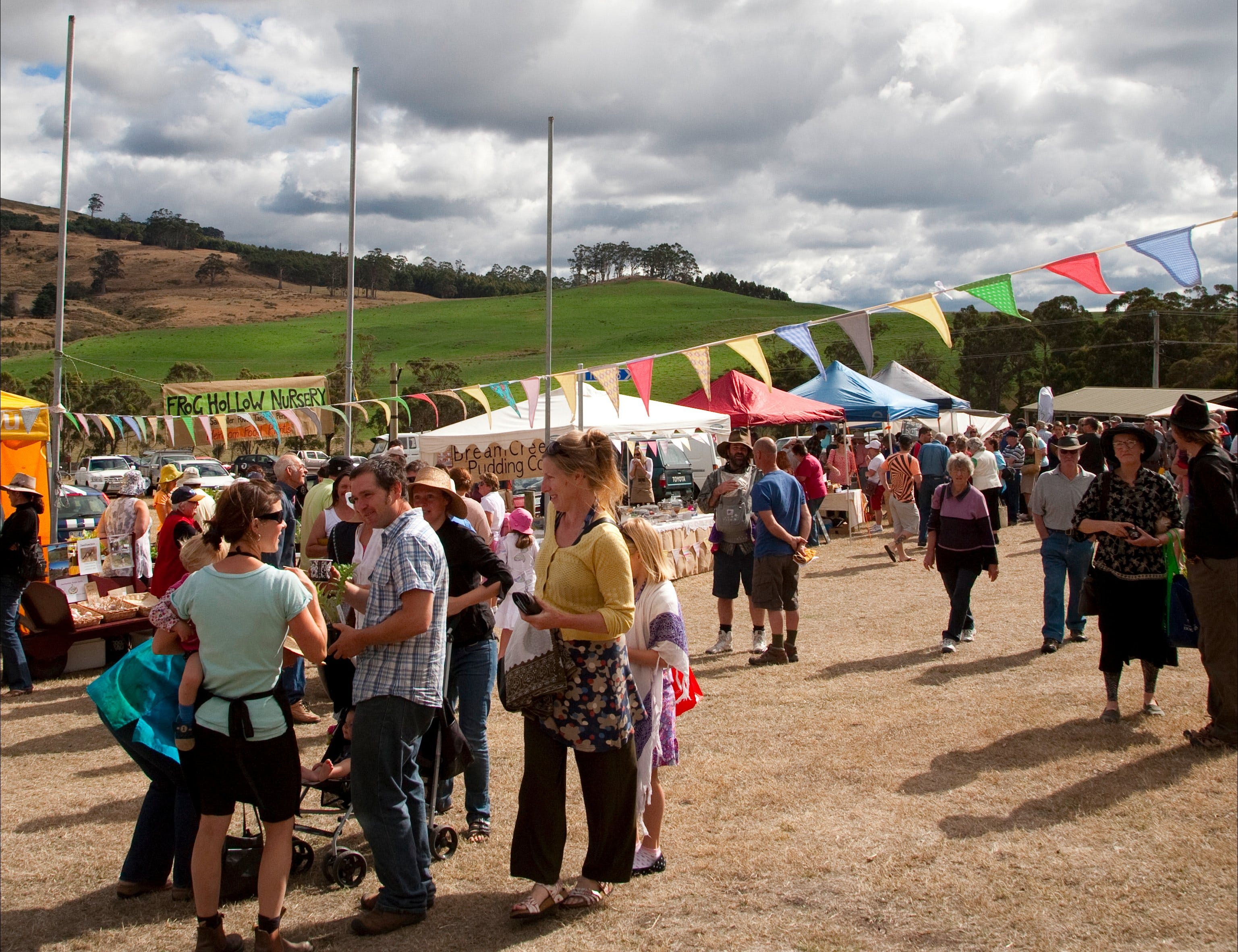 Bream Creek Farmers Market - VIC Tourism