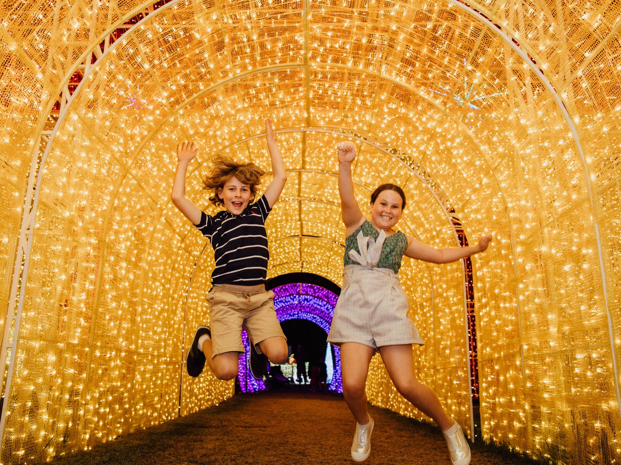Christmas Lights Spectacular New Year's Eve at Hunter Valley Gardens - VIC Tourism