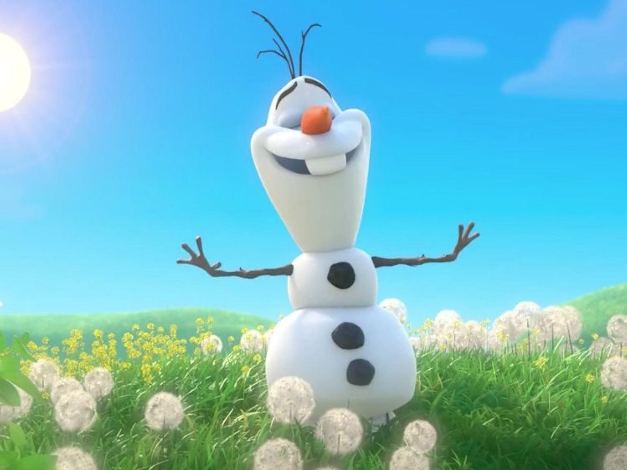 Meet Olaf from Frozen - VIC Tourism