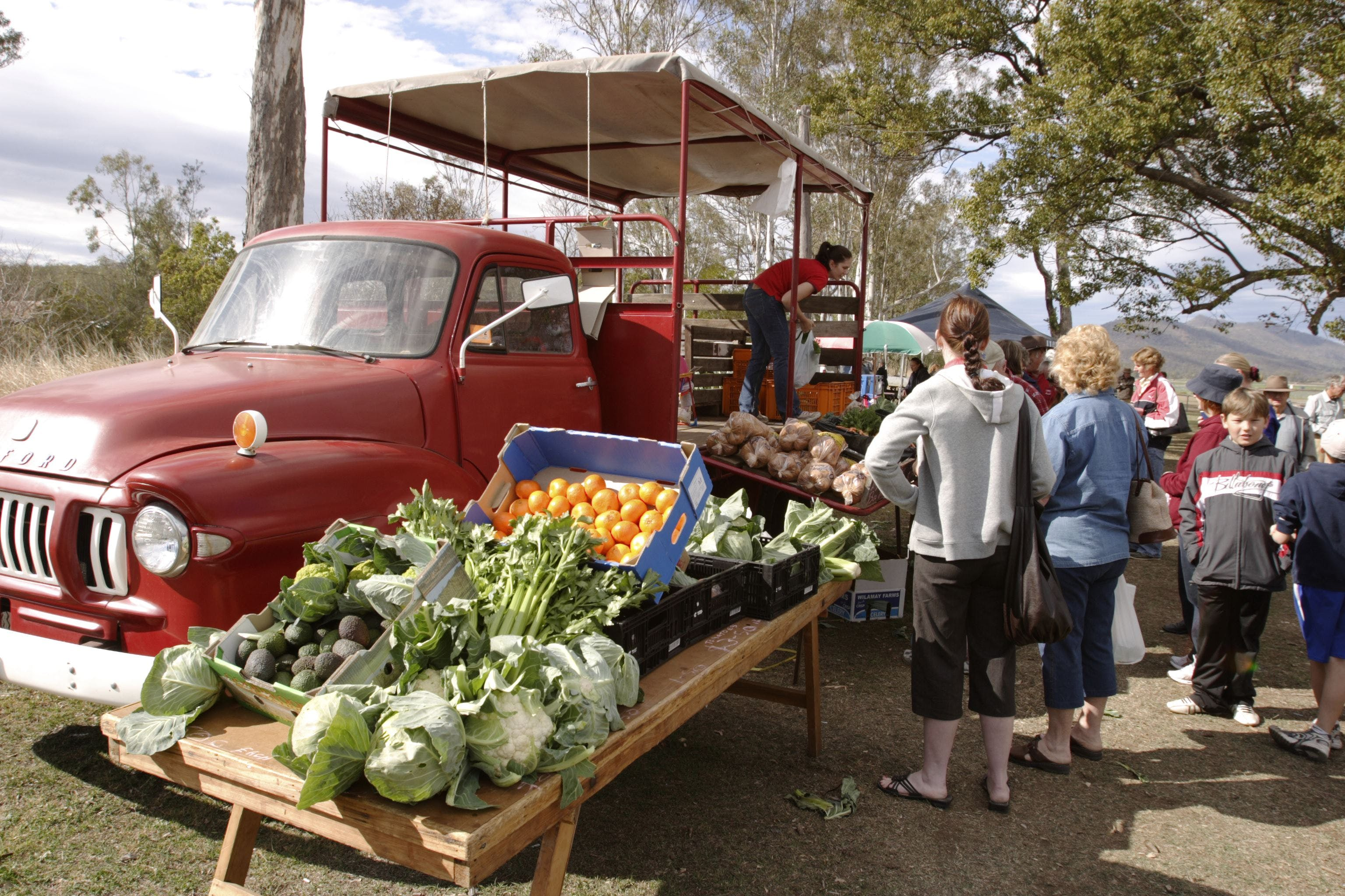 Murphys Creek Markets - VIC Tourism