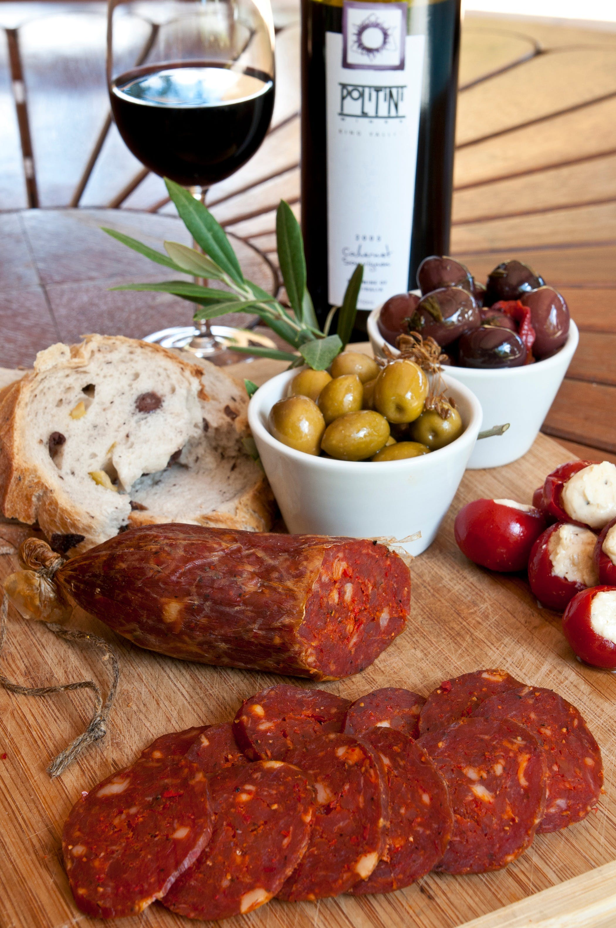 Salami and Salsicce Making classes at Politini Wines - VIC Tourism