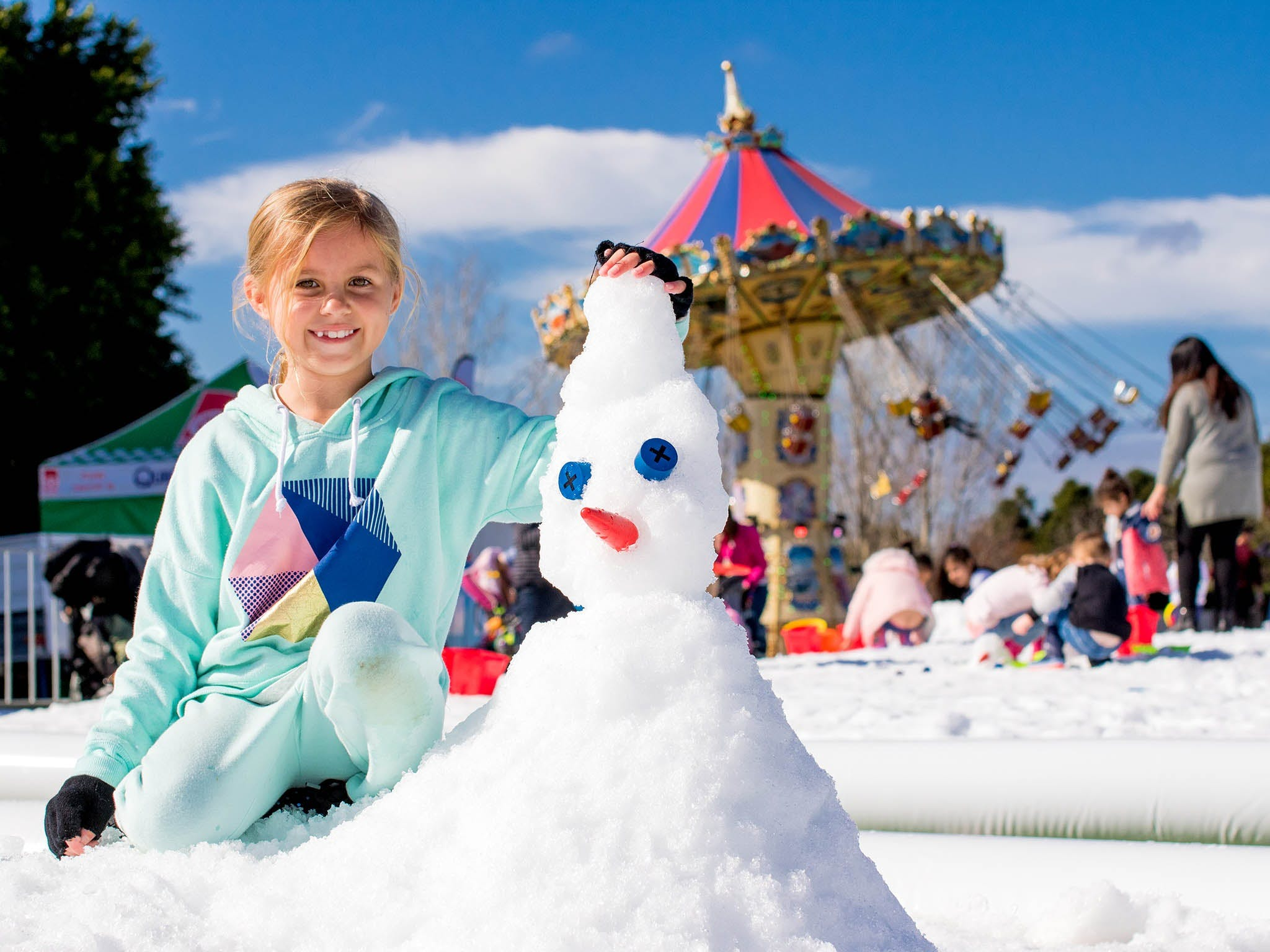 Snow Time in the Garden - Hunter Valley Gardens - Cancelled - VIC Tourism