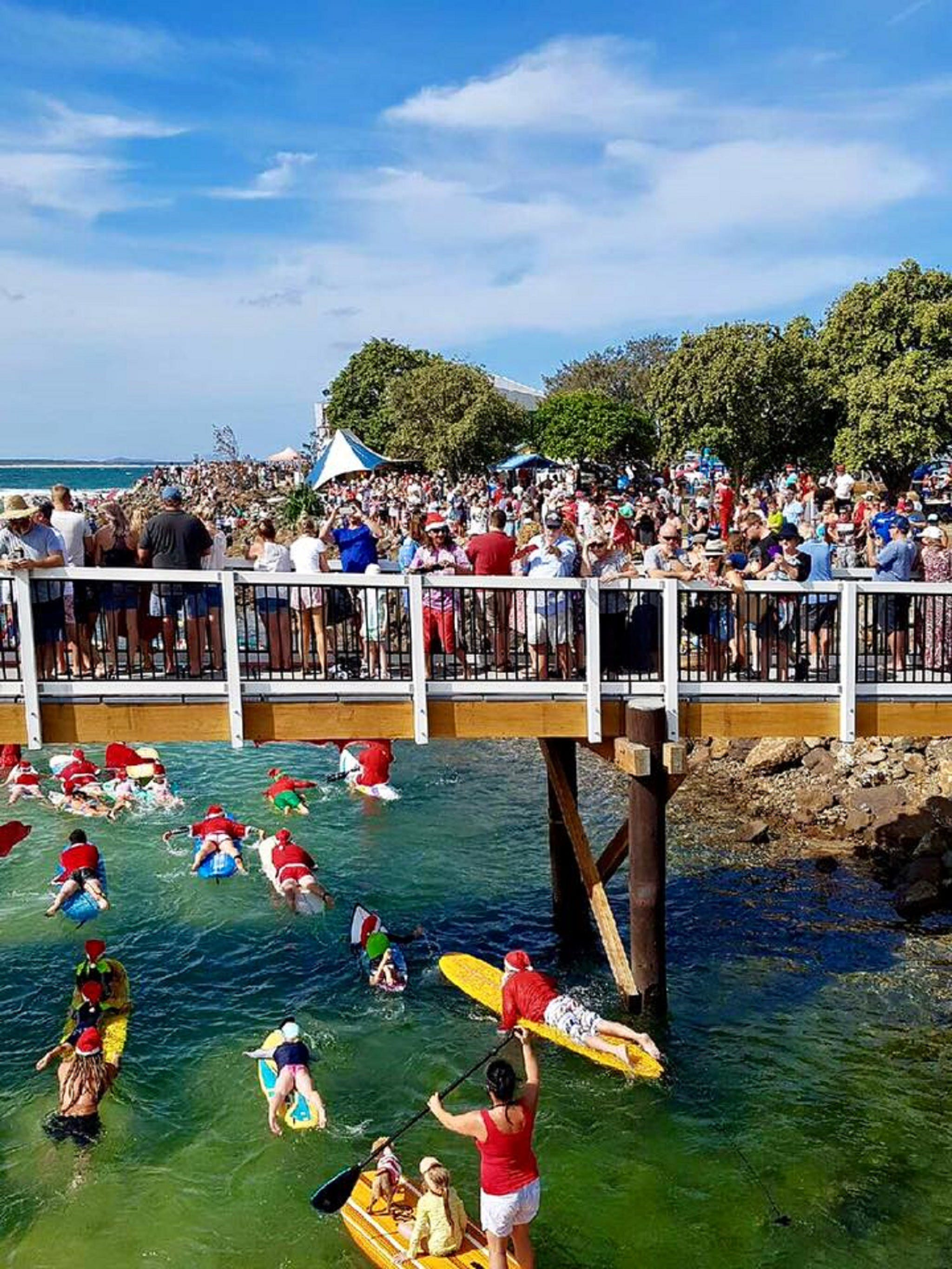 The Crescent Head Santa Surf - VIC Tourism