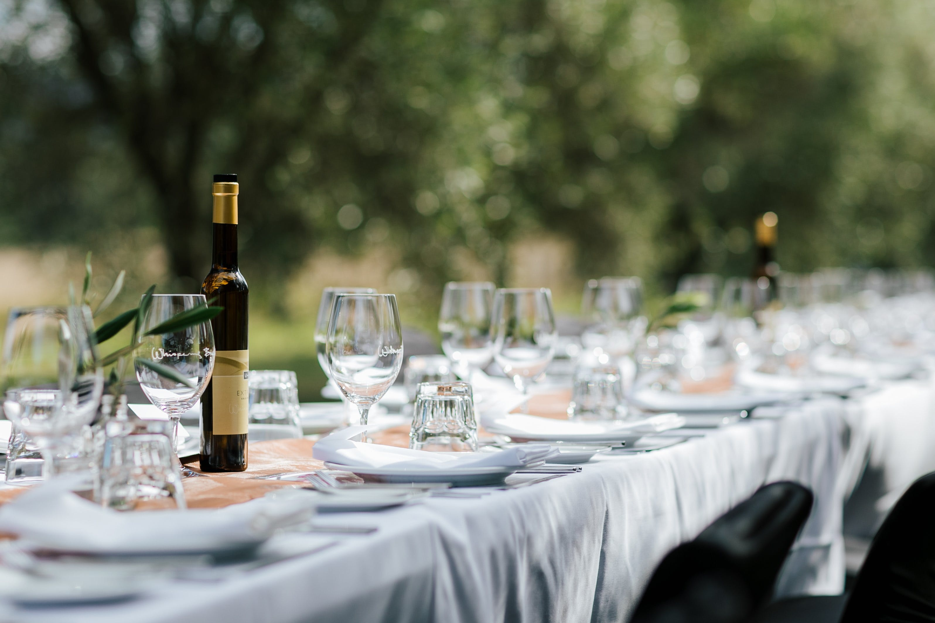 Whispering Brook Olive Long Table Luncheon - VIC Tourism