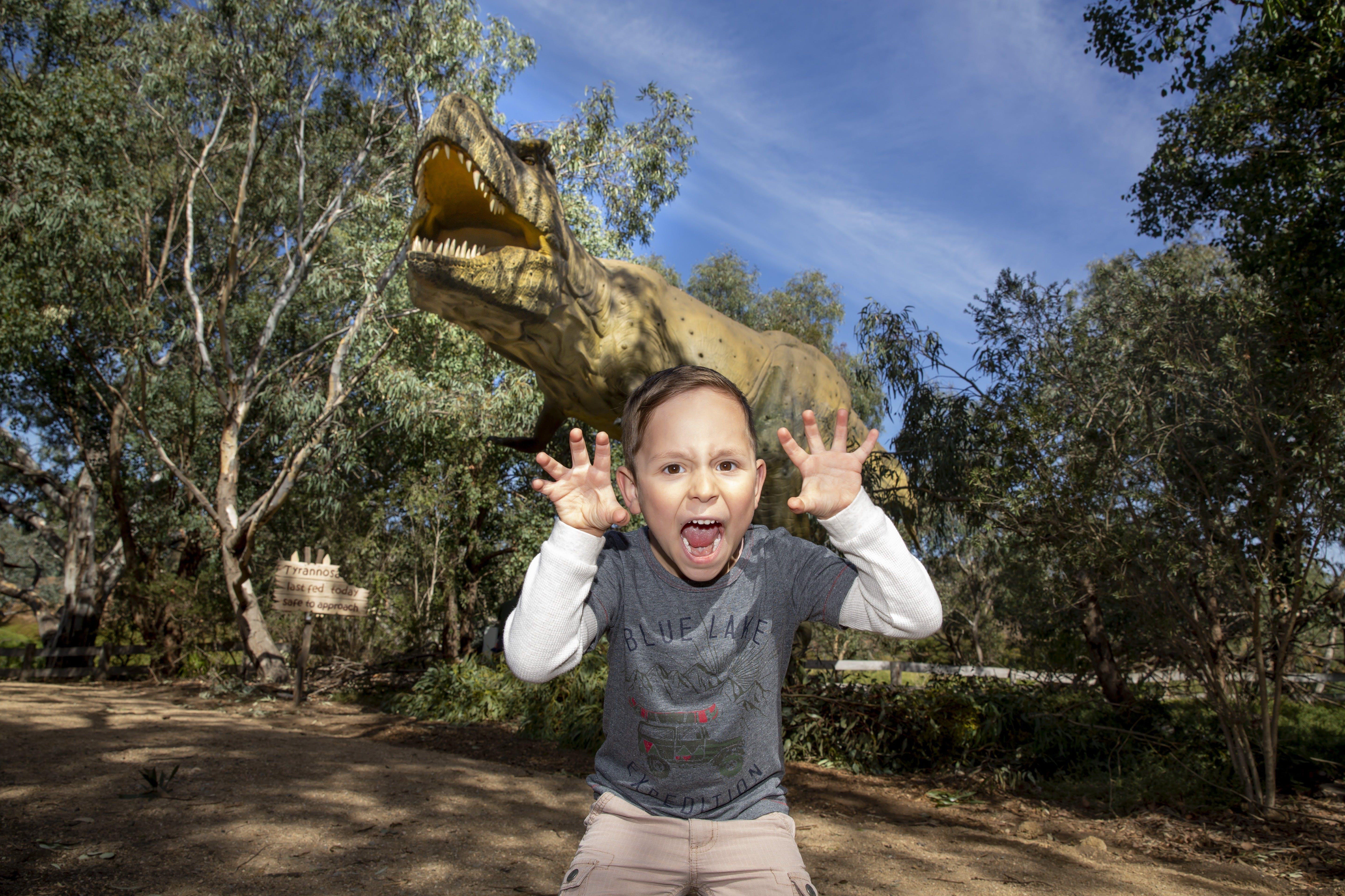 Zoorassic at Werribee Open Range Zoo. - VIC Tourism