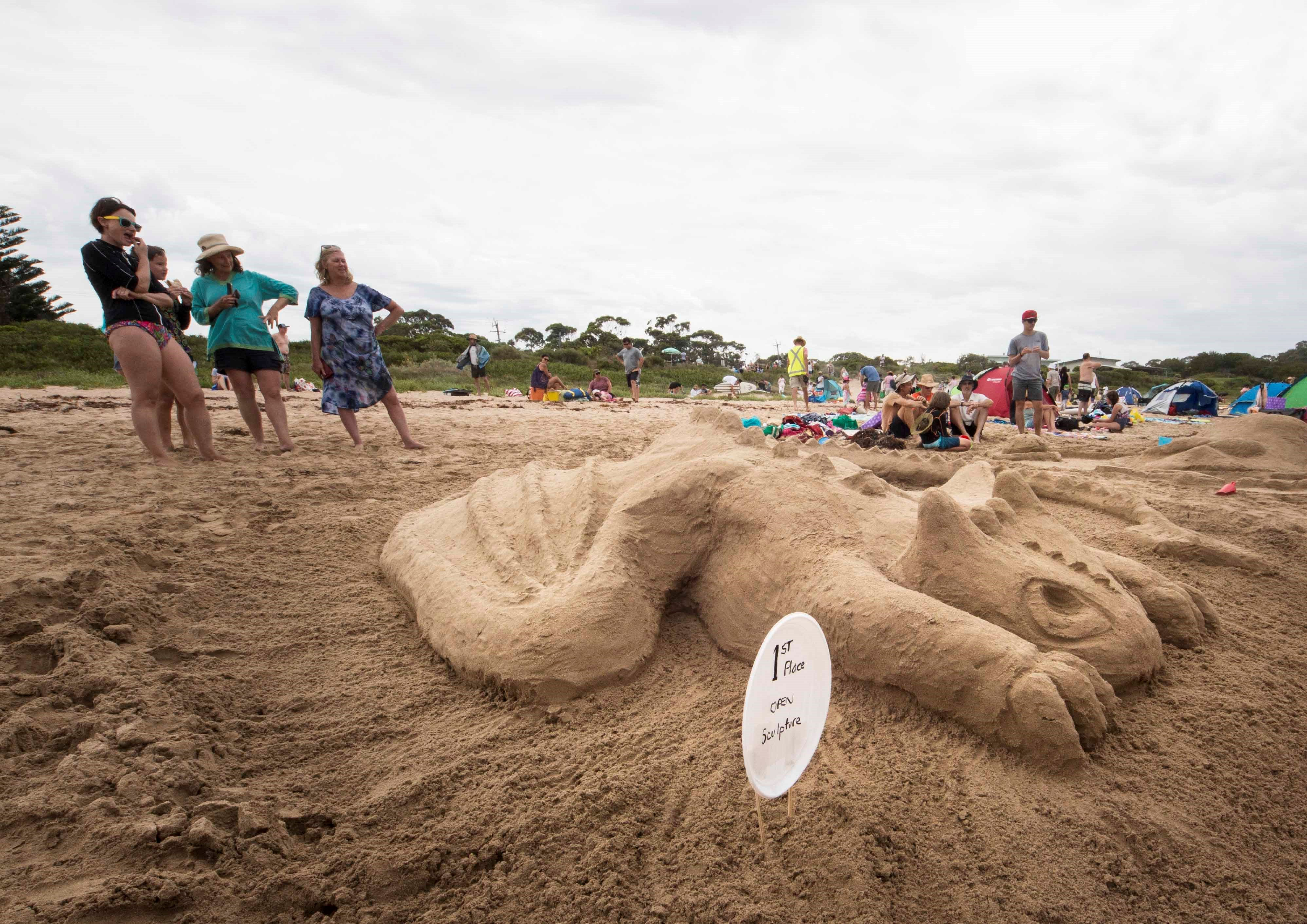 Broulee New Year's Eve Sandcastles and Sculptures - VIC Tourism