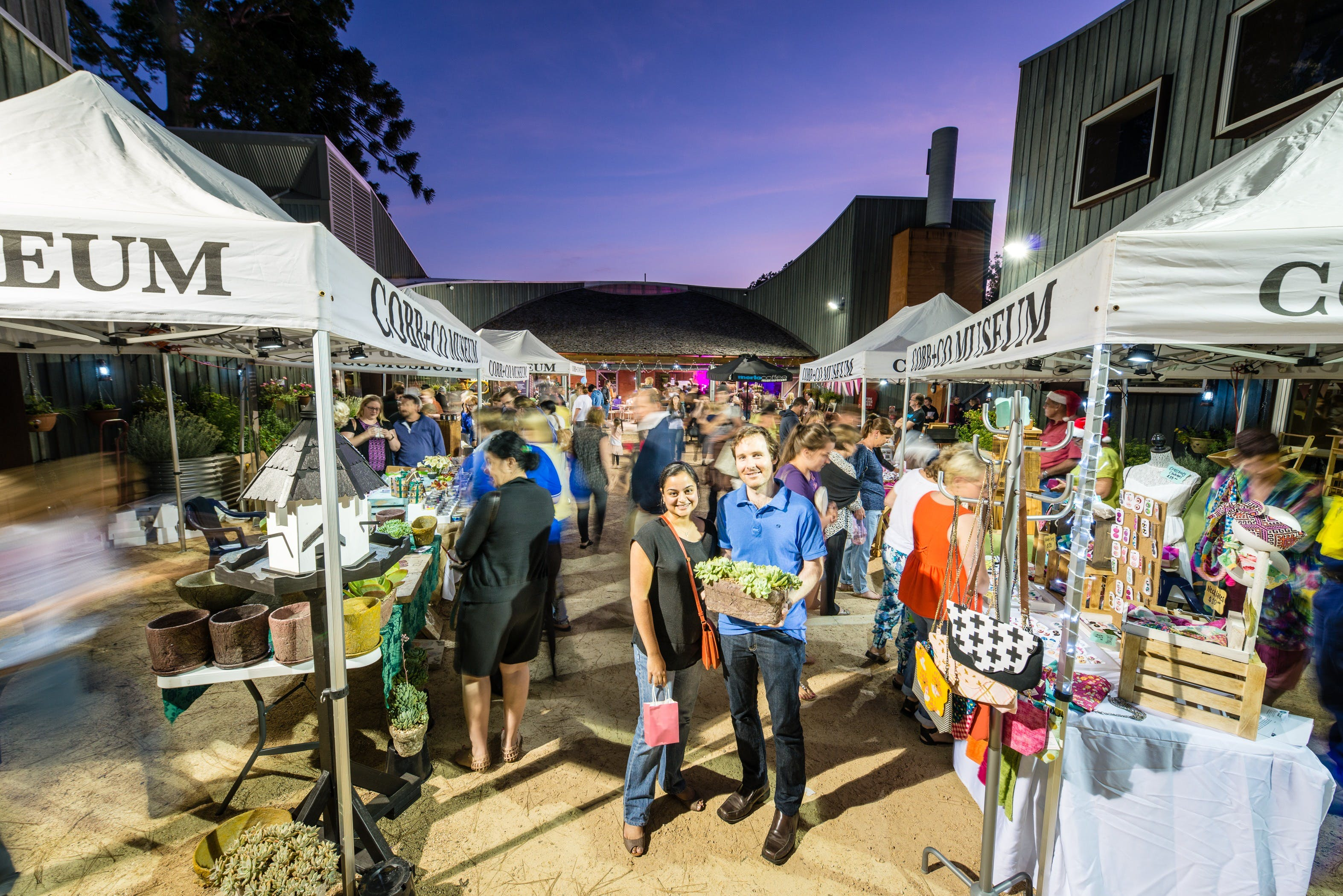 Hand Made Under the Stars - Twilight Market - VIC Tourism