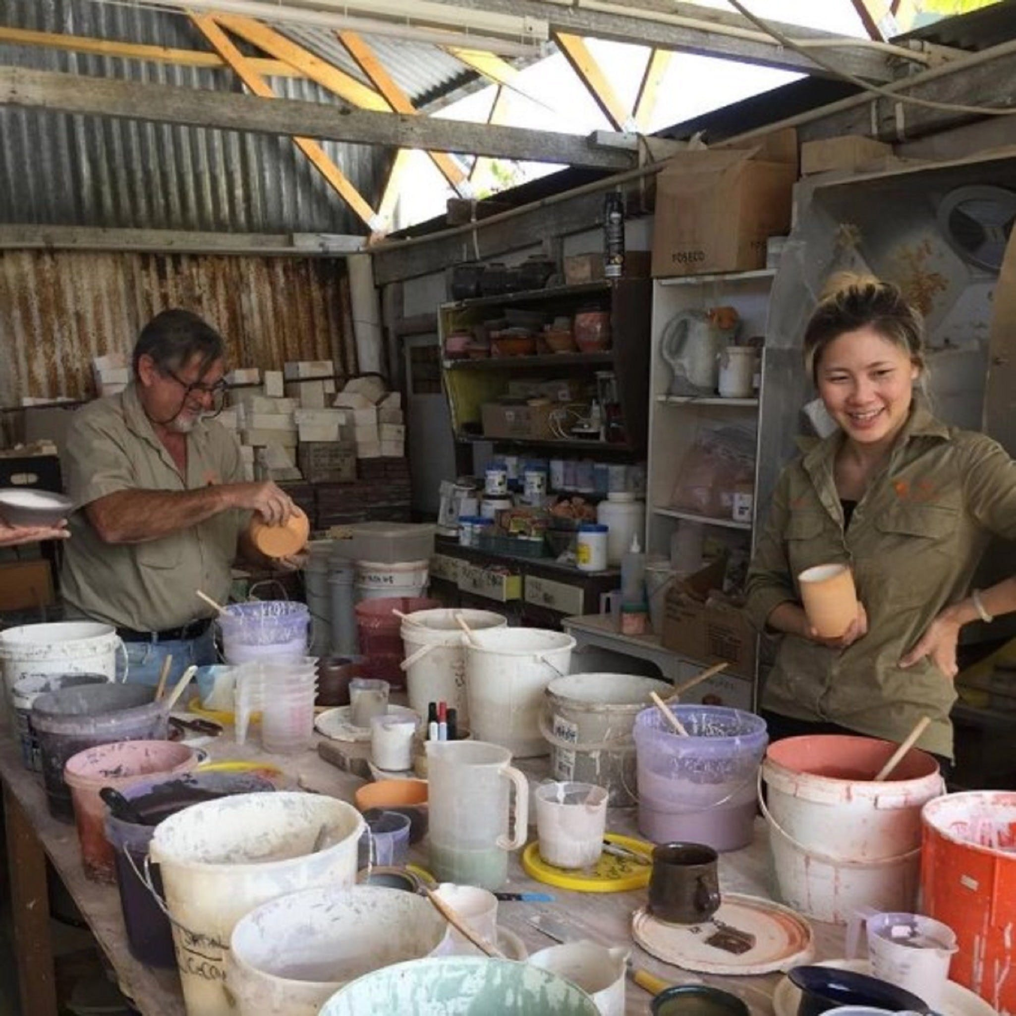 Introductory Pottery Glazing Class - VIC Tourism