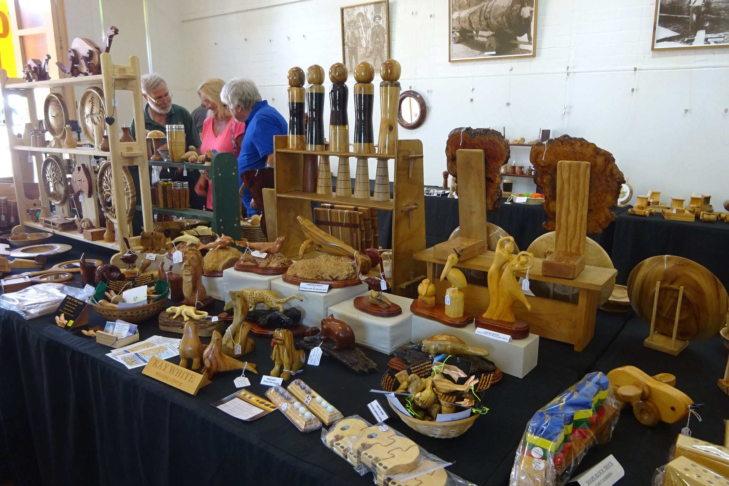 Kiama Woodcraft Group - Exhibition and Sales - VIC Tourism