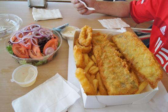 Beach Side Fish  Chips - VIC Tourism