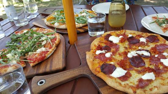 Bank Street Wood Fired Pizza and Gardens - VIC Tourism