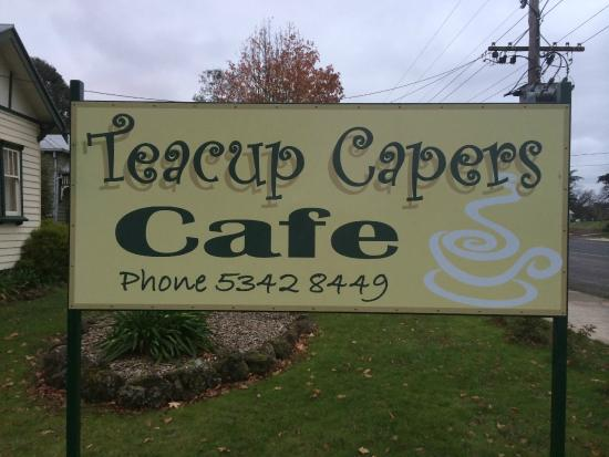 Teacup Capers - VIC Tourism