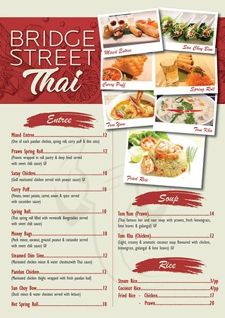 Bridge Street Thai - VIC Tourism