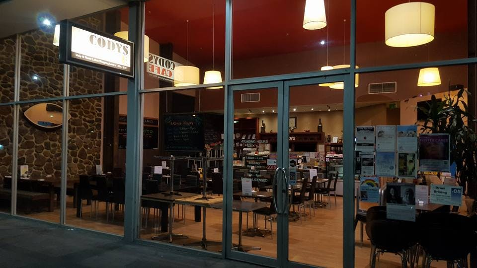 Cody's Cafe - VIC Tourism