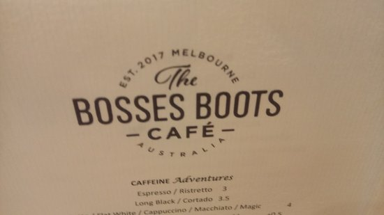 The Bosses Boots Cafe - VIC Tourism