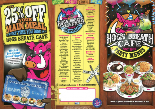 Hogs Breath Cafe - VIC Tourism