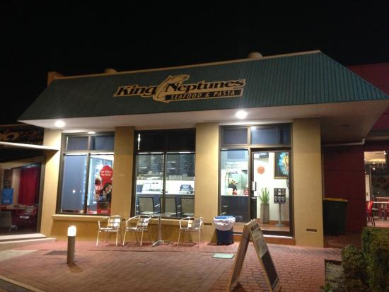 King Neptune's Seafood  Pasta - VIC Tourism