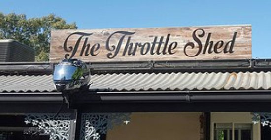 The Throttle Shed - VIC Tourism