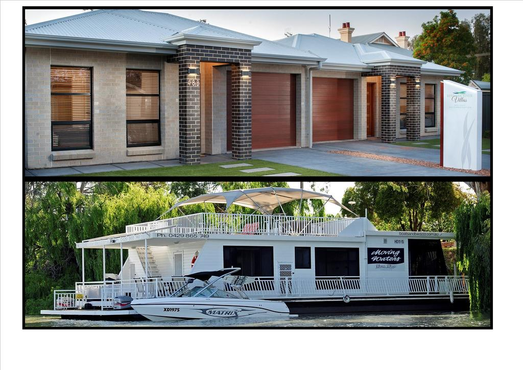 Renmark River Villas and Boats  Bedzzz - VIC Tourism